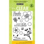 Hero Arts - Poly Clear - Clear Acrylic Stamps - Dauber Bunch