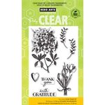 Hero Arts - Poly Clear - Clear Acrylic Stamps - Antique Gratitude Bouquets