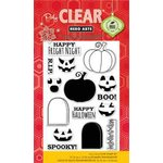 Hero Arts - Poly Clear - Halloween - Clear Acrylic Stamps - Fright Night