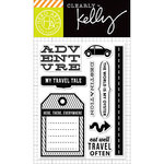 Hero Arts - Kelly Purkey Collection - Clear Acrylic Stamps - Destination