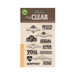 Hero Arts - Operation Write Home - Poly Clear - Clear Acrylic Stamps - Envelope Art