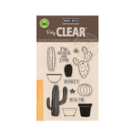 Hero Arts - Poly Clear - Clear Acrylic Stamps - Stamp Your Own Cactus