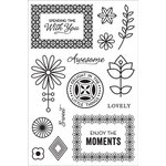 Hero Arts - BasicGrey - Prism Collection - Clear Acrylic Stamps - Spending Time With You