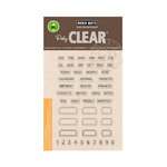 Hero Arts - Poly Clear - Clear Acrylic Stamps - Tabs