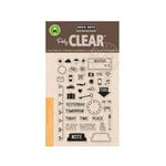 Hero Arts - Poly Clear - Clear Acrylic Stamps - My Week