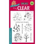Hero Arts - Poly Clear - Christmas - Clear Acrylic Stamps - Color Layering Fall Trees