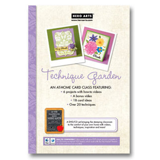 Hero Arts - Card Class Technique Garden - CD and DVD Set