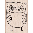 Hero Arts - Woodblock - Wood Mounted Stamps - You're a Hoot