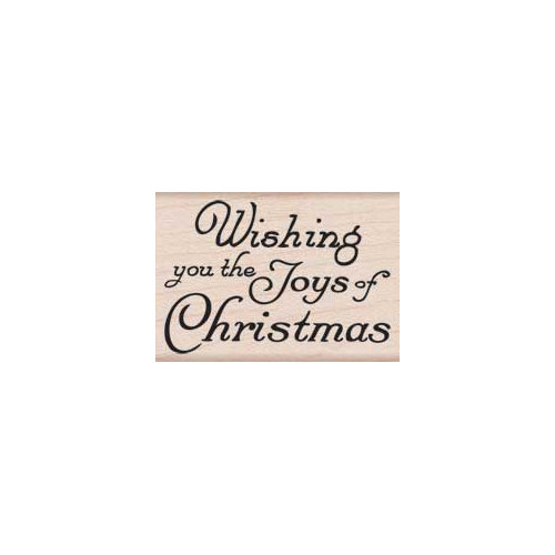Hero Arts - Woodblock - Christmas - Wood Mounted Stamps - Joy of Christmas