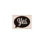 Hero Arts - Woodblock - Wood Mounted Stamps - Yes