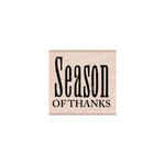 Hero Arts - Woodblock - Wood Mounted Stamps - Season of Thanks