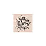 Hero Arts - Woodblock - Halloween - Wood Mounted Stamps - Spider in Web