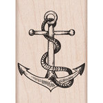 Hero Arts - Woodblock - Wood Mounted Stamps - Anchor