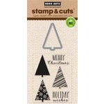 Hero Arts - Christmas - Die and Clear Acrylic Stamp Set - Holiday Tree