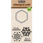Hero Arts - Christmas - Die and Clear Acrylic Stamp Set - Let It Snow