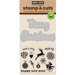 Hero Arts - Christmas - Die and Clear Acrylic Stamp Set - Fancy Cut Christmas