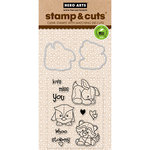 Hero Arts - Die and Clear Acrylic Stamp Set - Baby Animals