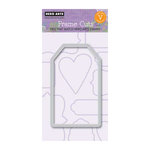 Hero Arts - Frame Cuts - Die Cutting Template - Large Tag
