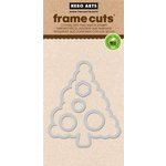 Hero Arts - Frame Cuts - Christmas - Dies - Circle Christmas Tree