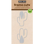 Hero Arts - Frame Cuts - Die Cutting Template - 3D Cactus Pair