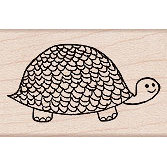 Hero Arts - Woodblock - Wood Mounted Stamps - Turtle
