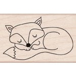 Hero Arts - Woodblock - Wood Mounted Stamps - Sleepy Fox