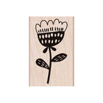 Hero Arts - Woodblock - Wood Mounted Stamps - Small Bold Flower