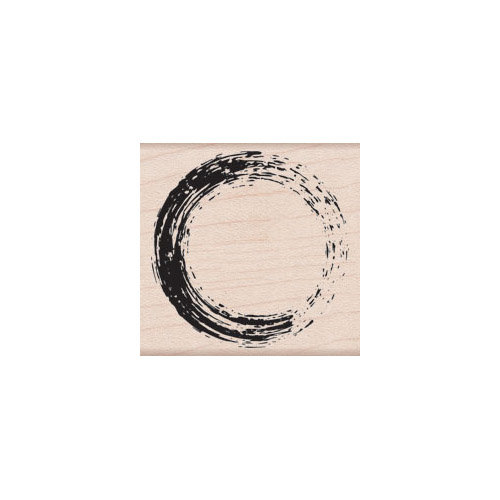 Hero Arts - Woodblock - Wood Mounted Stamps - Painted Circle