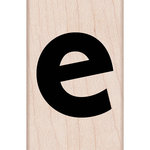 Hero Arts - Woodblock - Wood Mounted Stamps - Lowercase E