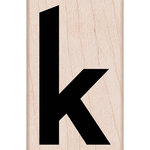 Hero Arts - Woodblock - Wood Mounted Stamps - Lowercase K
