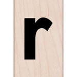 Hero Arts - Woodblock - Wood Mounted Stamps - Lowercase R