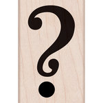 Hero Arts - Woodblock - Wood Mounted Stamps - Question Mark