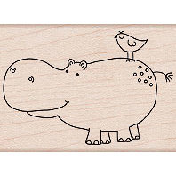 Hero Arts - Woodblock - Wood Mounted Stamps - Friends