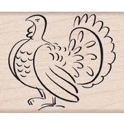 Hero Arts - Woodblock - Wood Mounted Stamps - Turkey