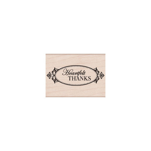 Hero Arts - Woodblock - Wood Mounted Stamps - Heartfelt Thanks