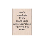 Hero Arts - Woodblock - Wood Mounted Stamps - Small Joy