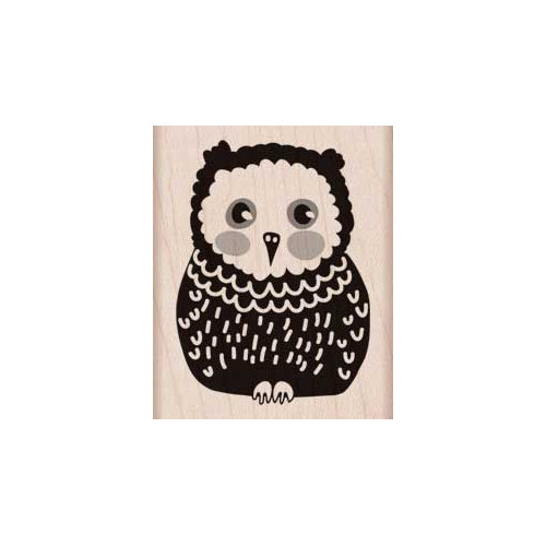 Hero Arts - Woodblock - Wood Mounted Stamps - Baby Owl
