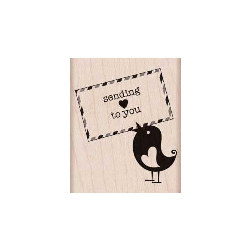 Hero Arts - Woodblock - Wood Mounted Stamps - Sending Love
