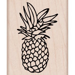 Hero Arts - Woodblock - Wood Mounted Stamps - Pineapple