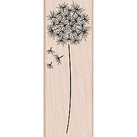 Hero Arts - Woodblock - Wood Mounted Stamps - Dandelion