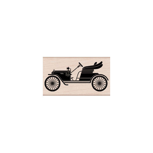 Hero Arts - Woodblock - Wood Mounted Stamps - Vintage Car