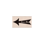 Hero Arts - Stamp Your Story Collection - Woodblock - Wood Mounted Stamps - Love This Arrow
