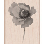 Hero Arts - Wood Block - Wood Mounted Stamp - Poppy in Wind