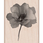 Hero Arts - Wood Block - Wood Mounted Stamp - Painted Poppy