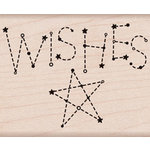 Hero Arts - Wood Block - Wood Mounted Stamp - Wishes