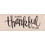 Hero Arts - Woodblock - Wood Mounted Stamps - Thankful