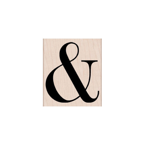 Hero Arts - Woodblock - Wood Mounted Stamps - Ampersand