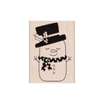 Hero Arts - Woodblock - Christmas - Wood Mounted Stamps - Sleeping Snowman