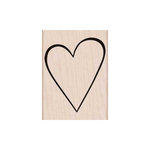 Hero Arts - Woodblock - Wood Mounted Stamps - Classic Heart