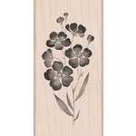 Hero Arts - Woodblock - Wood Mounted Stamps - Flowers on a Stem